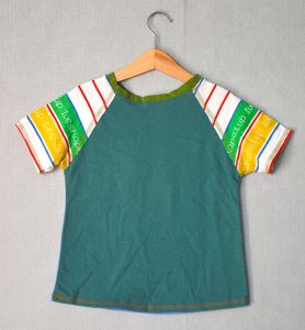Shaped Up Go Kiddo Tee - M