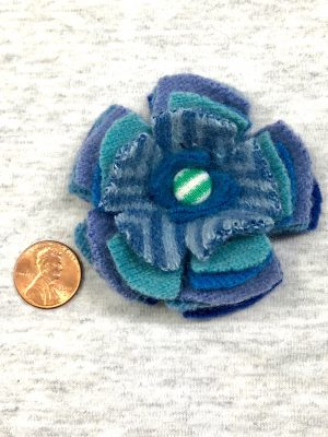 Bloomin' Pin - cool blue