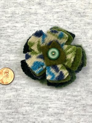 Bloomin' Pin - vintage muted cools
