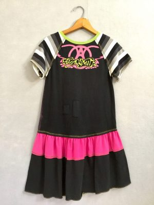 Aerosmith Girls Ruffle Dress - L