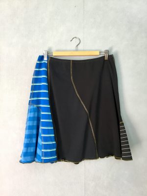 Black & Blue SWISH SKIRT - M