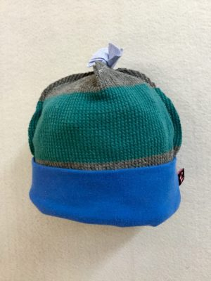 COTTON BABY HAT - BLUEnGREEN