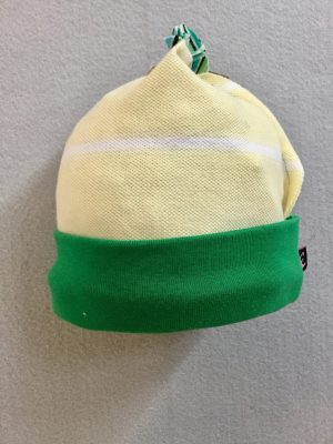 COTTON BABY HAT - YELLOWnGREEN