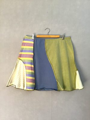 Pastel Stripe SWISH SKIRT - XL