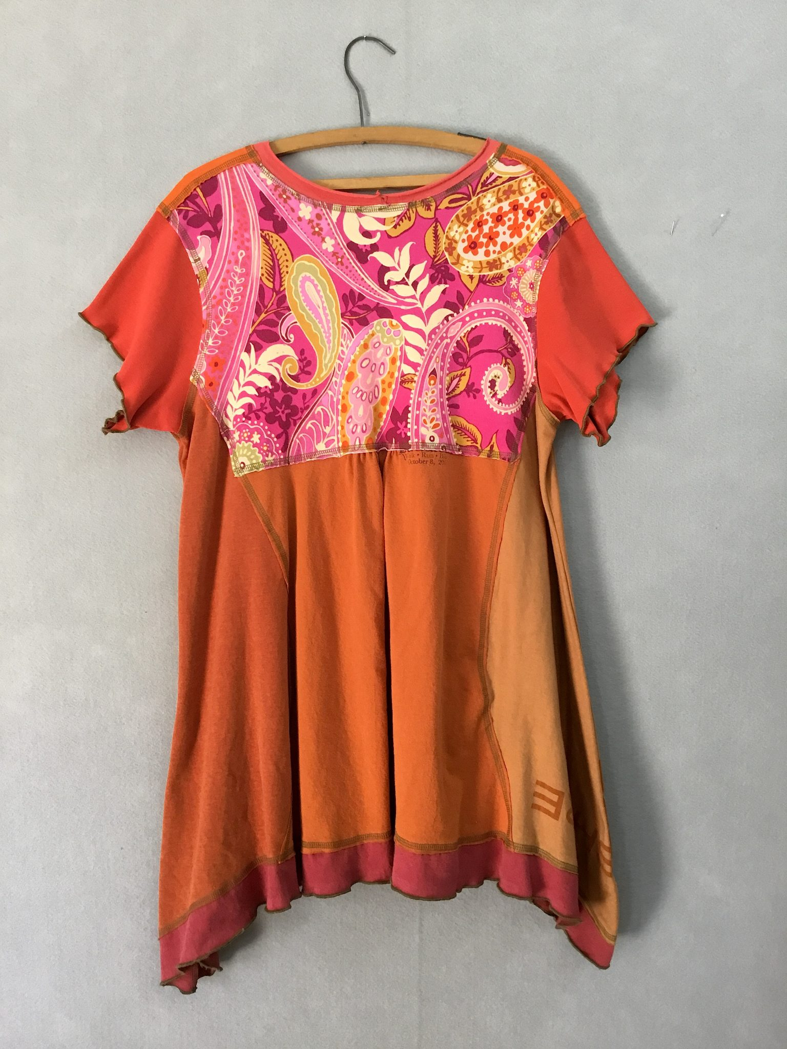 Orange South ORIG TUNIC Short Slv - XL