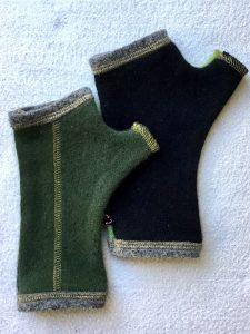 CASHMERE (CM) GLOVES - Green
