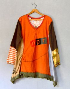 Orange NPR ORIG TUNIC Long Slv - L