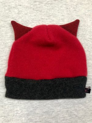 CASHMERE KIDDO CRITTER HAT - kitty