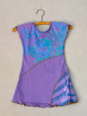 Purple Sparkle Girls Dress - S
