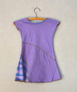 Purple Sparkle Girls Dress - S