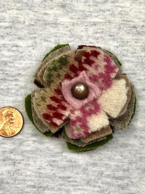 Bloomin' Pin - earthy & pink