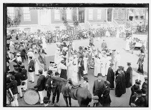 Suffrage Paraders, N.Y.
